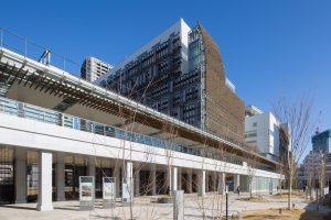 みなとパーク芝浦 - 設計: NTTファシリティーズ施工 鹿島・きんでん・東熱・須賀異業種建設共同体