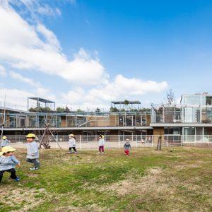 はあと保育園 - 設計: 大野秀敏 + 江口英樹 / アプルデザインワークショップ 施工 安藤ハザマ