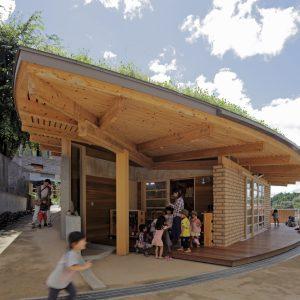 さざなみの森 吹の棟 - 設計: 竹原義二 / 無有建築工房施工 大和建設