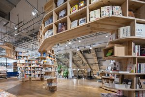 MUJI BOOKS 有楽町 - 設計: アトリエ・ワン施工 シマスタジオ