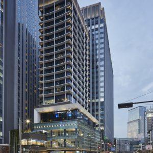 鉃鋼ビルディング - 設計: 三菱地所設計 施工: 大成・増岡組建設共同企業体