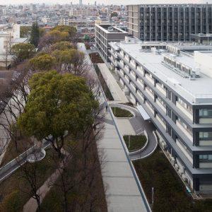 大阪市立大学理系学舎 - 設計: 東畑建築事務所 施工: 戸田建設