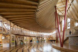 ちぐさこども園 - 設計: 仙田満 + 環境デザイン研究所 施工: 角屋工業