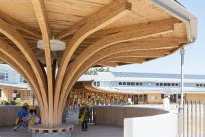 二本松市立とうわこども園 - 設計: 辺見美津男設計室 施工: ヤマニ建設