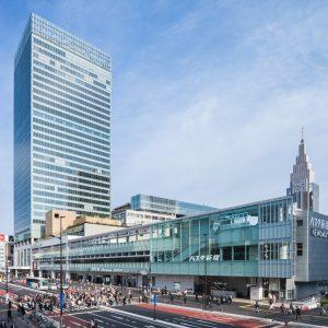 新宿交通結節点整備事業・JR新宿ミライナタワー