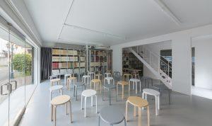 新建築社 青山ハウス - 設計: 乾久美子建築設計事務所 施工: 北野建設