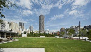 南池袋公園 - 施工: 西武造園 (Ⅰ期) かたばみ興業 松本建設 (Ⅱ期)