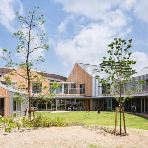 TSURUMIこどもホスピス - 設計: 大成建設一級建築士事務所 施工: 大成建設