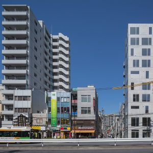 辰巳アパートメントハウス - 設計: 伊藤博之建築設計事務所 施工: サンユー建設