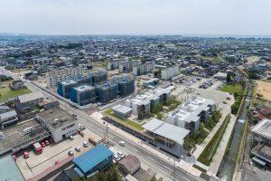 パッシブタウン第1期街区 - 設計: エステック計画研究所 設計組織PLACEMEDIA (ランドスケープ) 施工: 戸田建設