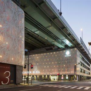 船場センタービル改修 - 設計: 石本建築事務所 施工: 熊谷組