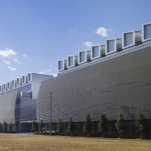 白河データセンター - 設計: 日本設計 施工: 清水建設