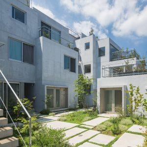 緑ヶ丘のコーポラティブハウス