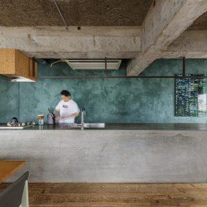 建築家のキッチン06:東京の家