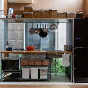 建築家のキッチン03:団子坂の家