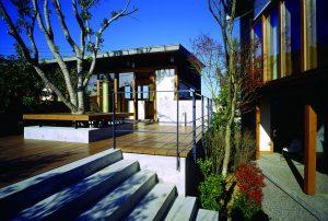 沖の洲の家