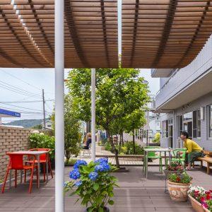 距Re:デザインプロジェクト ミノワ座ガーデン/ミノワセパレイ戸
