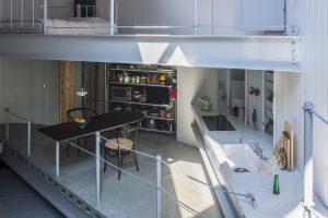 建築家のキッチン03:弦と弧