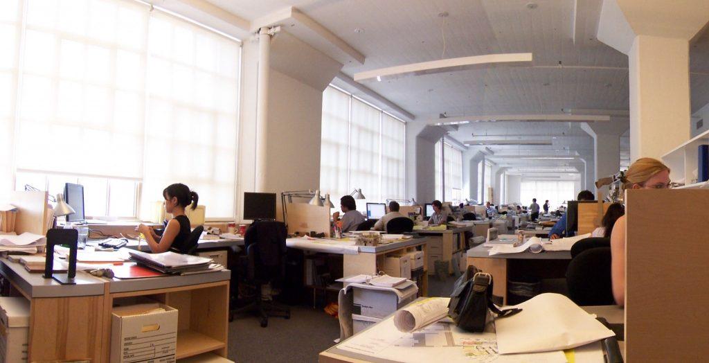 ニューヨークのRogers Marvel Architectsのオフィス