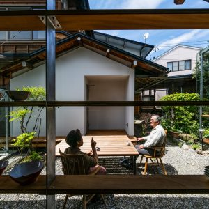 建築家のキッチン04:6つの小さな離れの家