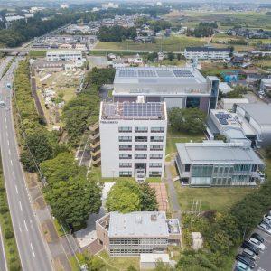 戸田建設筑波技術研究所 環境技術実証棟 構造・施工実験棟 音響実験棟