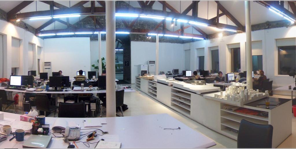 北京のMADのオフィス