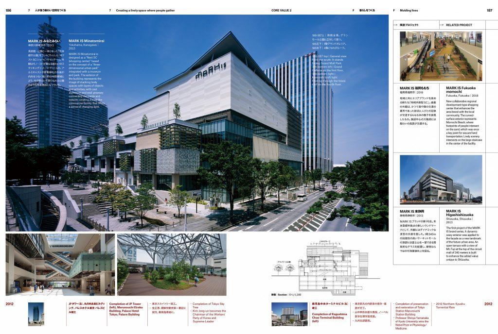 新建築』2020年9月別冊「思う力 未来へつなぐ」 MARK IS みなとみらい