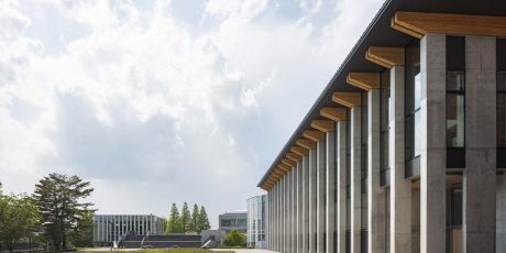 流通経済大学龍ケ崎キャンパス 佐伯記念武道館