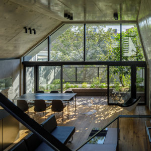Concrete Shell House