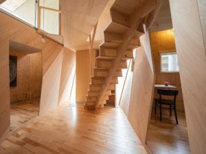 24mm合板の家