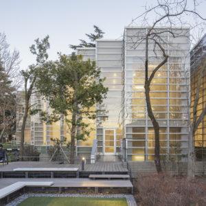 杉並区立中央図書館全面改修