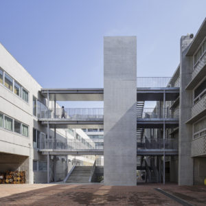 武蔵野美術大学7・8号館EV棟+工房
